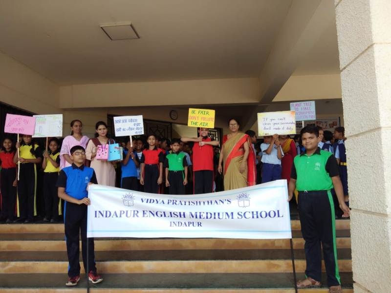 Rally on account of Environment Day