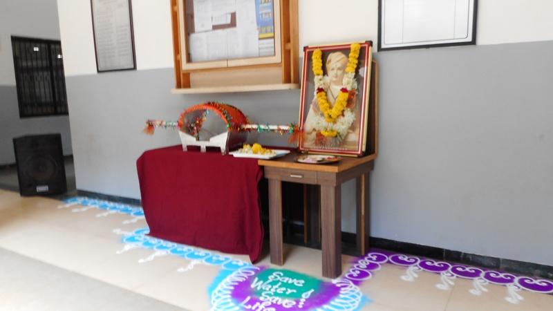Dindi Celebration on theme save water save earth