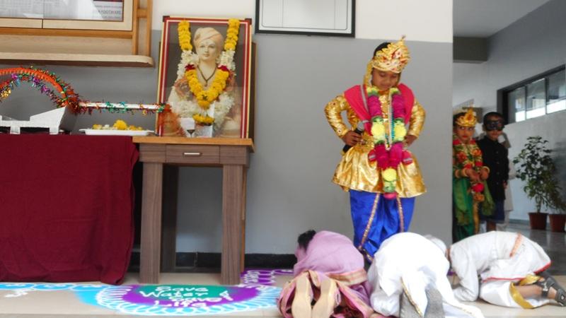 God Vitthal\'s establishment in drama