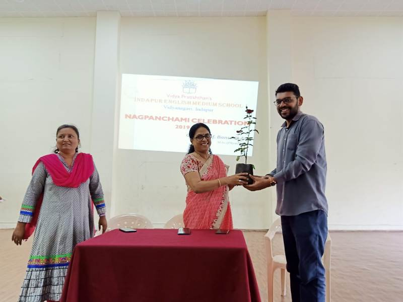 Felicitation of Guest
