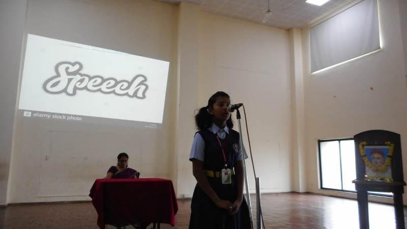 Students speech by Palak Baldota