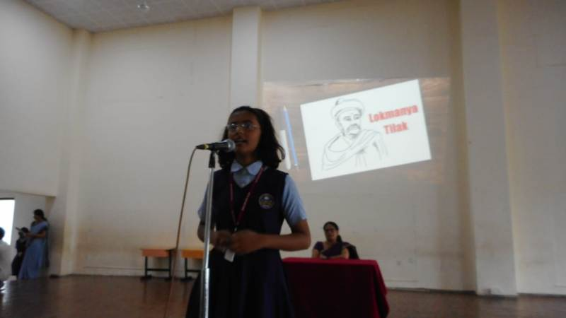 Students speech by Prachi Khade