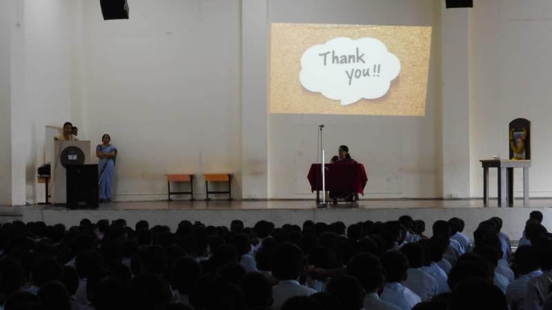 Vote of Thanks by Pallavi madam