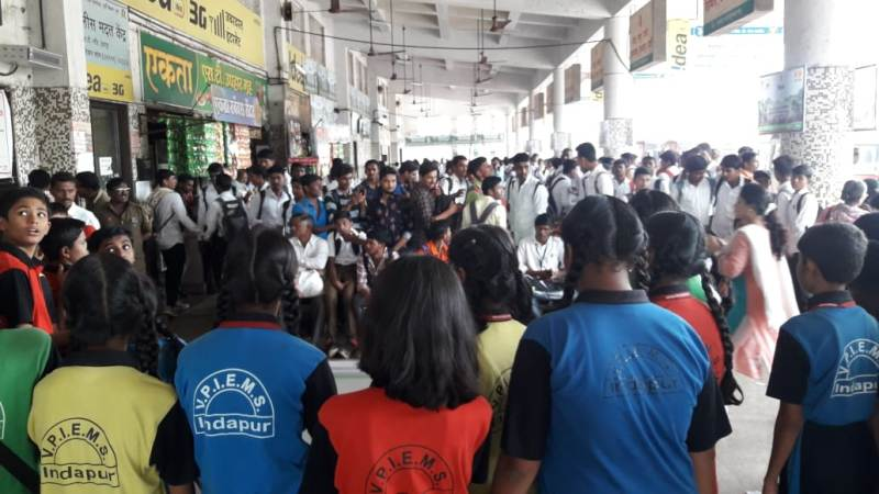 Cleanliness Awareness to the passenger