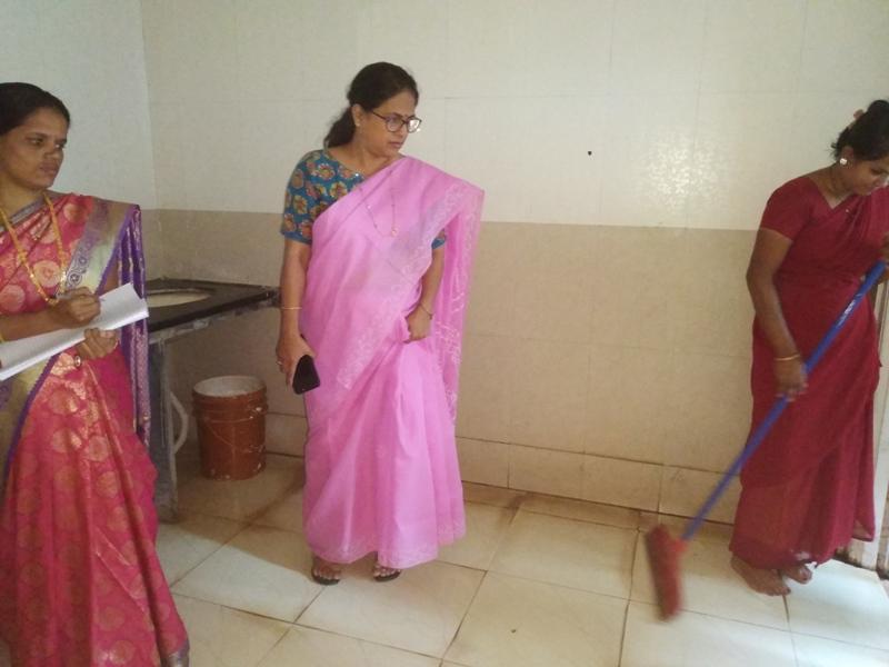 Inspection of sanitation