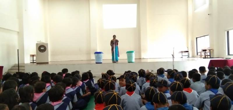 Teacher telling Importance of Eco clubs