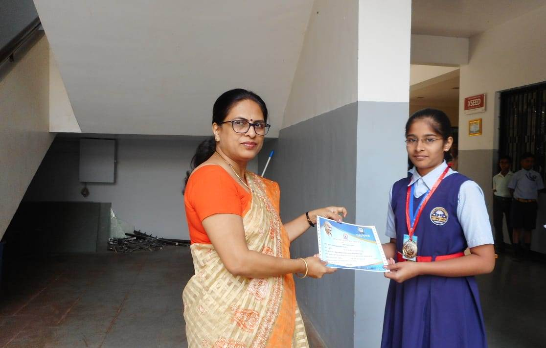 Letter writing prize distribution