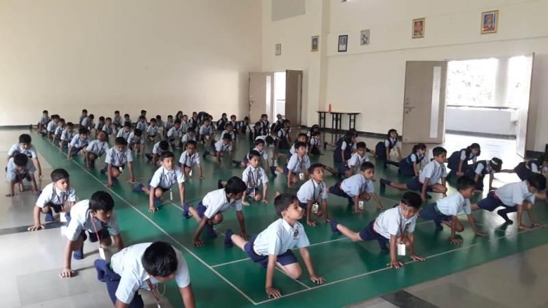 Yoga- Suryanamaskara
