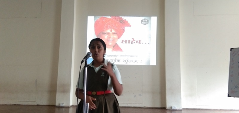 Elocation Competition students speech on Account Pawar Saheb\'s Birhday (4)