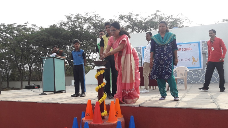 Inauguration of Sports Day