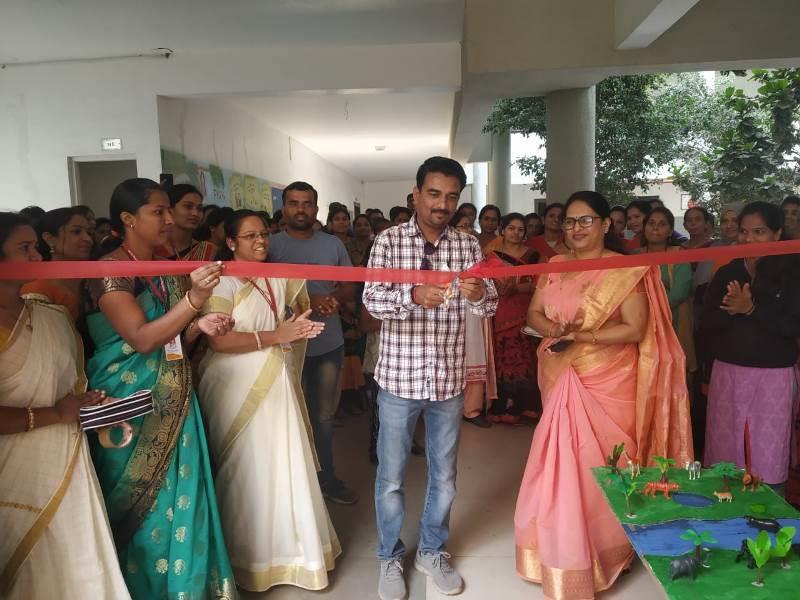 Mr Vishwajeet Jadhav Inaugurating Annual Activity Day