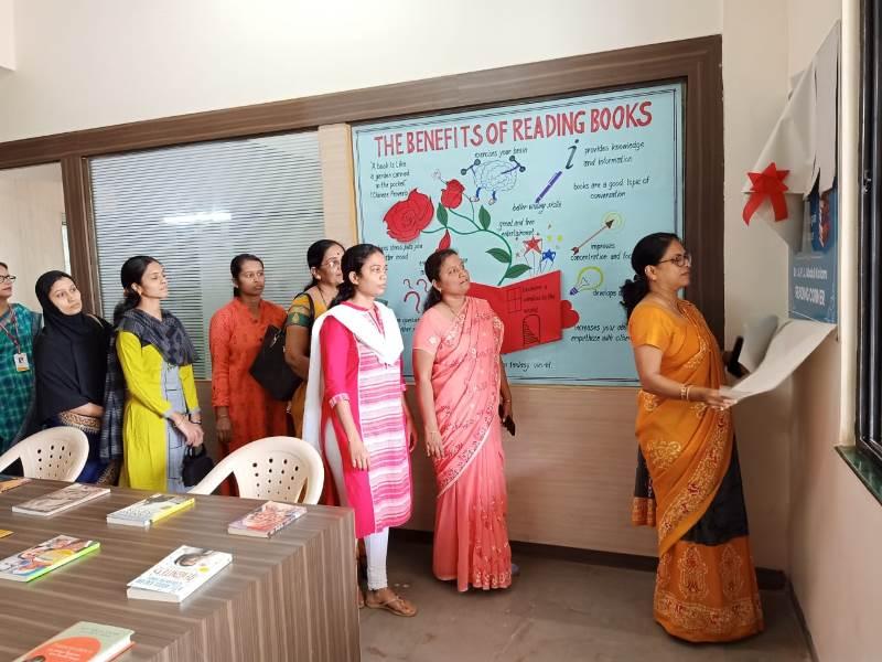 Opening ceremony of Reading Corner