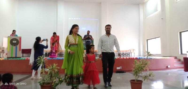 Parents performance on Ramp Walk
