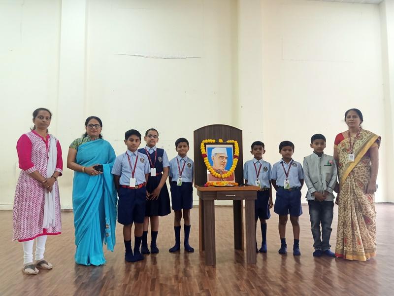 Photo Poojan by PRINCIPAL & Students