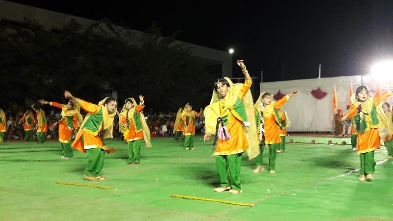 Punjabi Folk Dance on PT Display