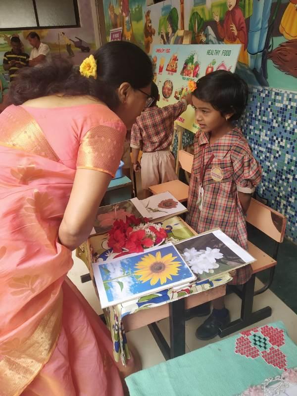 Shree Vyhaware Explain her Project