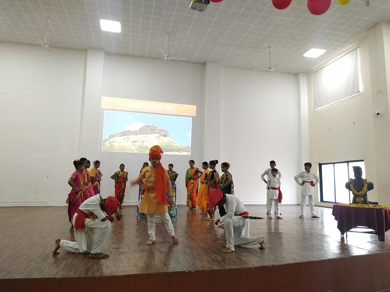 Skit on the Life & History of Shivaji Maharaj on the account of Shiv Jayanti Celebration