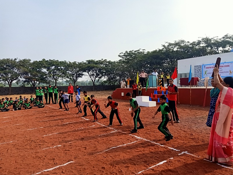 Students Running Race