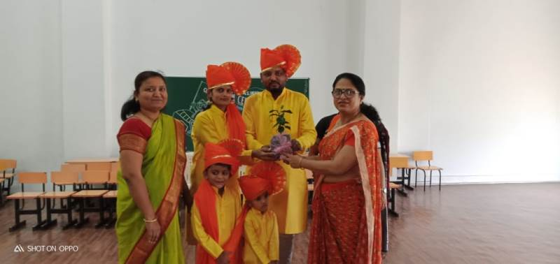 Winner parents of Ramp Walk competition on the occasion of Convocation Ceremony