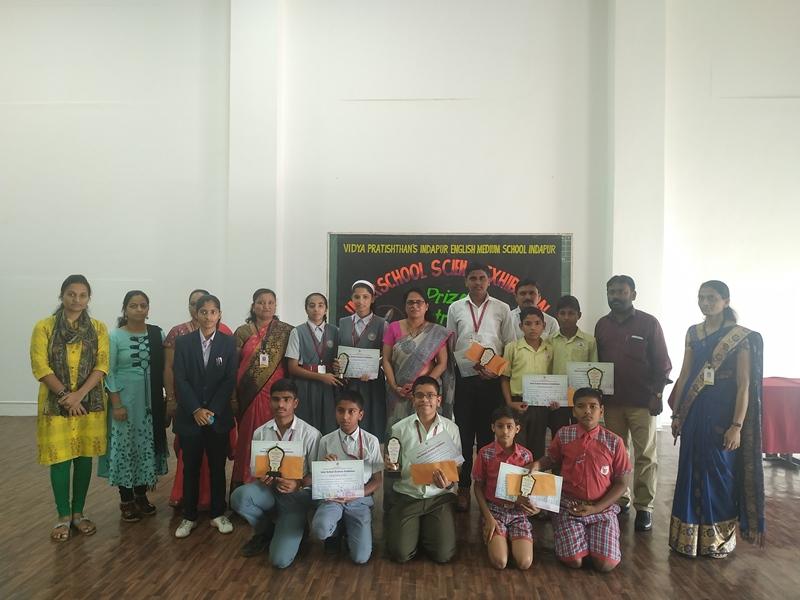 Winners of Inter School Science Exhibition