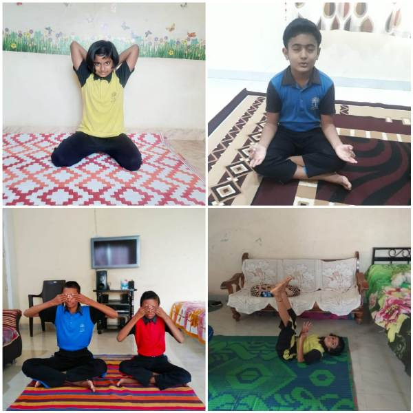 Yoga By Student