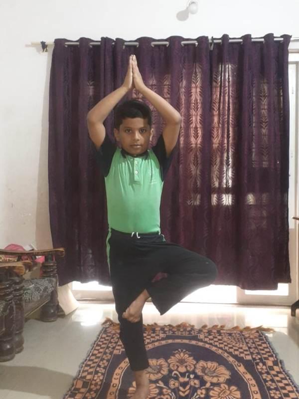 Aditya Tambile 4B- Yoga