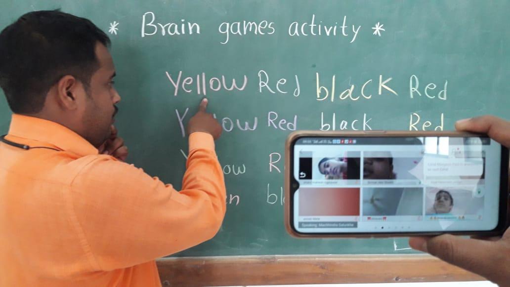 Brain Game Activity...