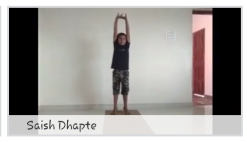 Fitness session at home - Tadasan