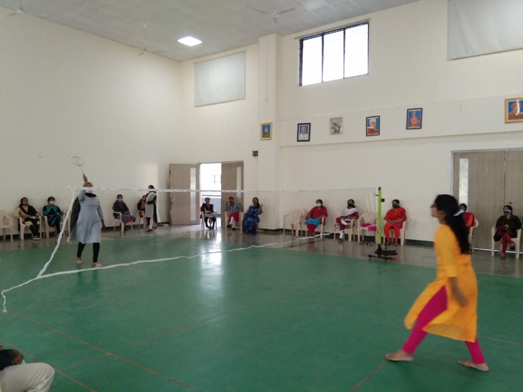 Sports activitiy for staff - Badminton