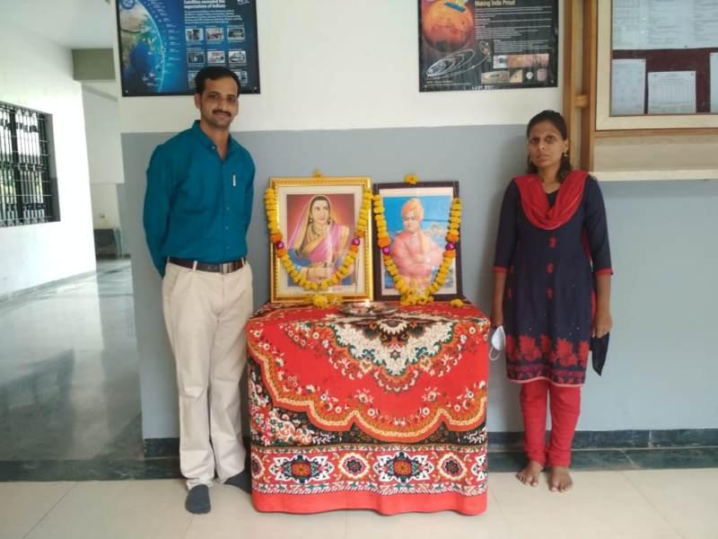 Program incharge Nikhil Kulkarni and Snehal Arjun