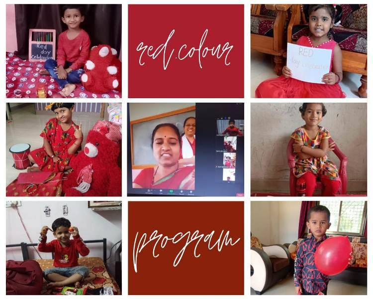 Online Red Colour Activity by HK.G Jasmine