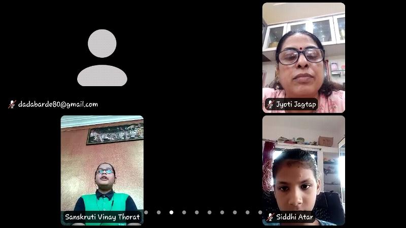 Virtual Campaigning by Sanskruti Thorat