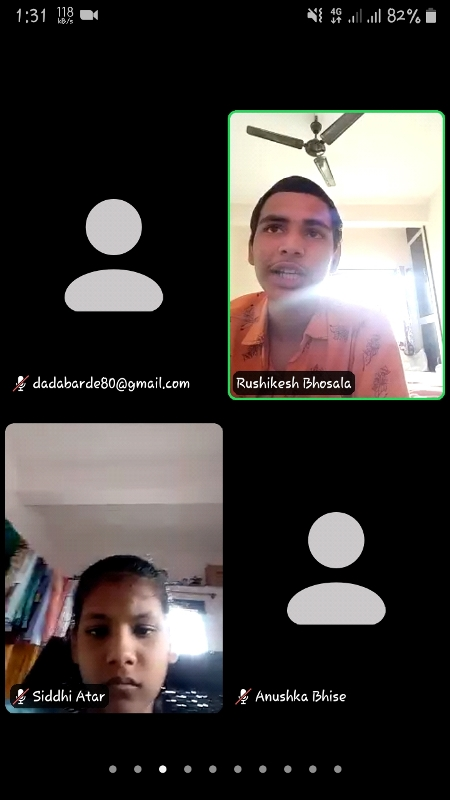Virtual Campaigning from Rushikesh Bhosale
